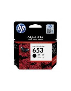 Cartus Cerneala Original HP 653, 3YM75AE, Black