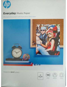 Hartie foto HP Everyday Glossy, A4, Q2510A, 100 coli/top