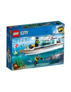 LEGO City Great Vehicles: Iaht pentru scufundari 60221