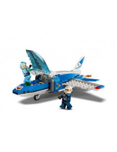 LEGO City Police: Arest cu parasutisti al politiei aeriene 60208
