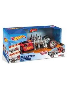 Masinuta Hot Wheels Monster Action - Street Creeper, cu lumini