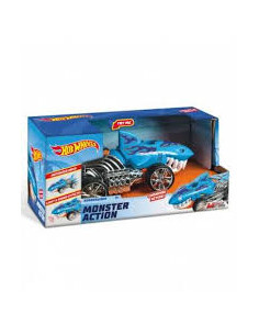 Masinuta Hot Wheels Monster Action - Sharkruiser, cu lumini si sunete