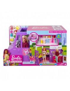 Set Mattel de Joaca Rulota cu Mancare Barbie