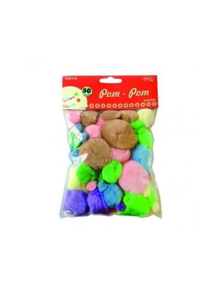 Accesorii craft - AD114 pom pom pastel DACO