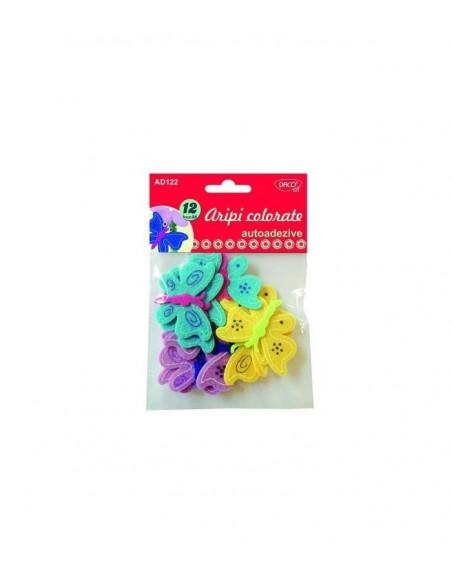 Accesorii craft - AD122 aripi colorate autoadezive pasla DACO