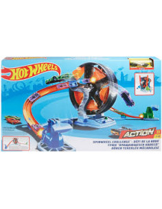 Set de Joaca Hot Wheels - Provocare pe carusel, GJM77 Mattel