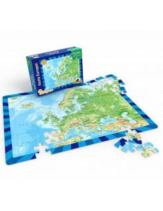 Harta Europei, Puzzle Noriel, 100 Piese