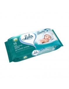 Servetele umede antibacteriene pentru copii cu aloe Lula, 72
