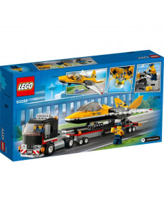 LEGO City Great Vehicles: Transportor de avion cu reactie