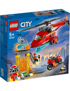 LEGO City Fire: Elicopter de pompieri 60281