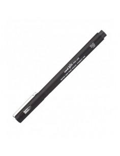 Liner Uni-Ball PIN01-200S, 0.1mm, pe baza de apa, Negru