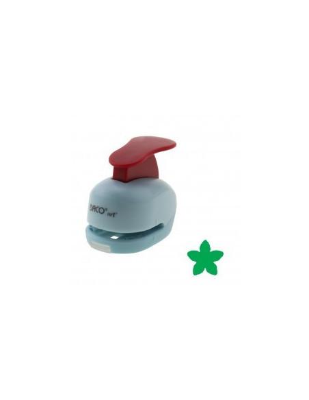 Perforator cu model floare cu 5 petale, 1 cm DACO