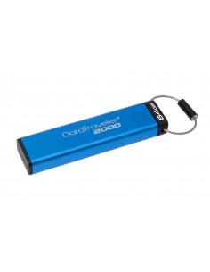 USB Flash Drive Kingston, 64GB, DT2000, USB 3.0, Keypad, 256bit