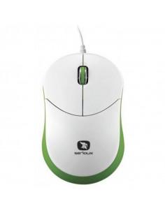 Mouse Serioux cu fir, optic, Rainbow 680, 1000dpi, verde