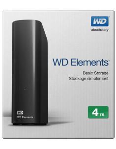 """HDD extern WD, 4TB, Elements, 3.5"""", USB3.0, negru"""