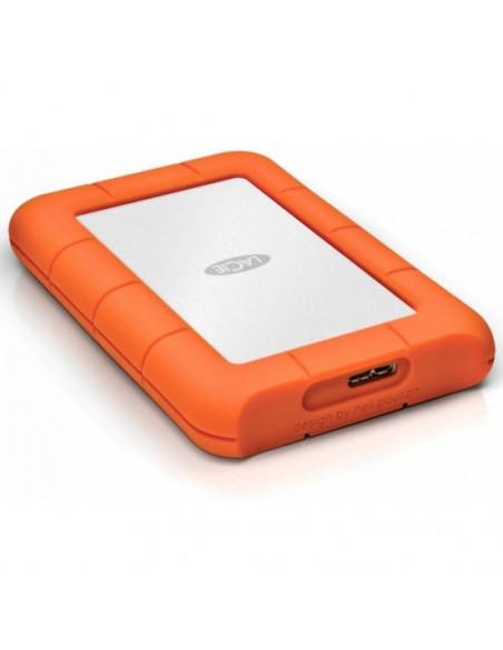 HDD extern Lacie 2TB Mini 2.5 USB3.0 argintiu Shock rain