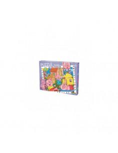 Puzzle Noriel, cu povesti - Cei trei purcelusi, 240 piese