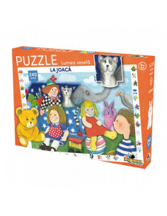 Puzzle Noriel Lumea Vesela - La joaca, 240 piese