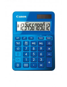 Calculator birou Canon LS123KBL albastru 12 digiti ribbon