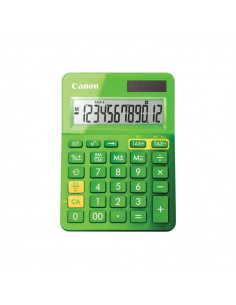 Calculator birou Canon LS123KGR verde 12 digiti ribbon display