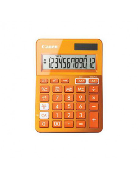 Calculator birou Canon LS100KMOR 10 digiti Dual power culoare: