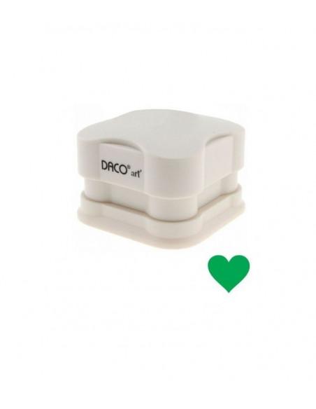 Perforator magnetic cu model inima 3.7 cm DACO