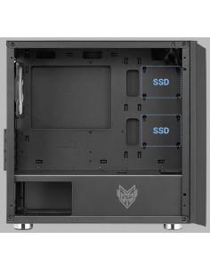 Carcasa FSP CST311 Micro ATX fara sursa neagra