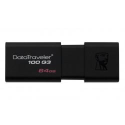 USB Flash Drive Kingston 64 GB DataTraveler D100G3 USB 3.0 black