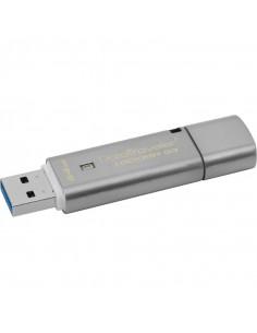 USB Flash Drive Kingston 64 GB DT Locker USB 3.0 read 135Mb/s