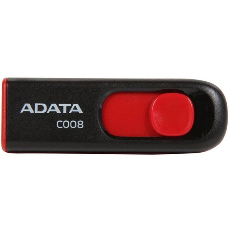 USB Flash Drive ADATA 32Gb C008 USB2.0 negru