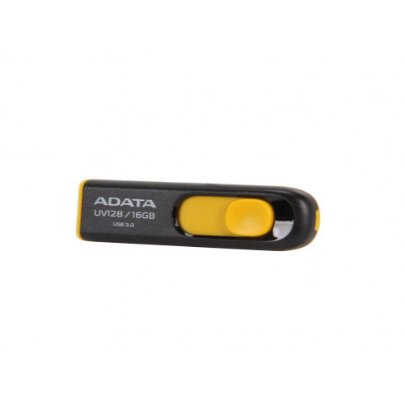 USB Flash Drive ADATA 16GB UV128 USB3.0 Negru si Galben