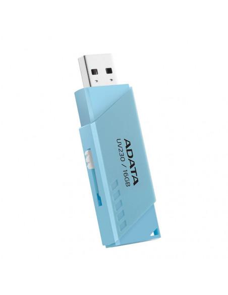 USB Flash Drive ADATA 32GB UV230 USB2.0 retractabil albastru