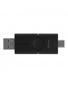 USB Flash Drive Kingston 64GB DataTraveler Duo USB 3.2 black