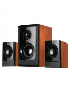 Boxe Serioux 2.1 SoundBoost HT2100C 16W RMS culoare lemn de