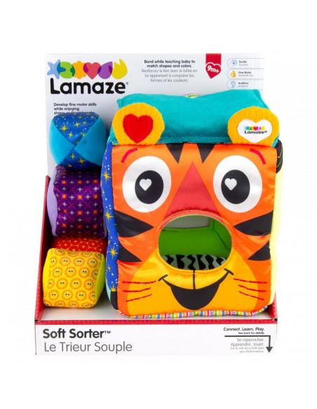Lamaze-Jucarie de sortare cub colorat