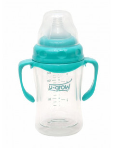 Biberon din Sticla 120 ml Gat Larg U-GROW A-1055