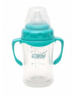 Biberon din Sticla 180 ml Gat Larg U-GROW A-1077