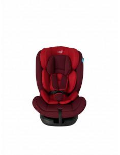 Scaun auto rotativ isofix 0-36kg rosu