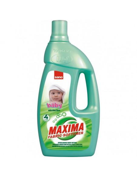 Balsam pentru rufe, 4 L, SANO Maxima Baby Aloe Vera