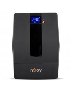 UPS nJoy Horus Plus 1000 1000VA/600W Afisaj LCD cu ecran tactil