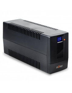 UPS nJoy Horus Plus 800 800VA/480W Afisaj LCD cu ecran tactil2