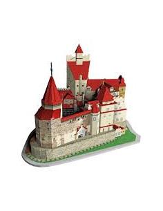 Puzzle 3D Noriel, Castelul Bran, 91 piese