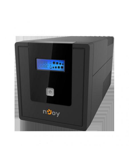UPS nJoy Cadu 1000 1000VA/600W Afisaj LCD cu ecran tactil 4 x