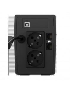 UPS nJoy Cadu 650 650VA/360W Afisaj LCD cu ecran tactil 2 x