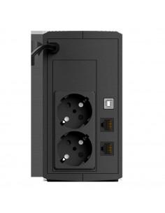 UPS nJoy Keen 800 USB UPLI-LI080KU-CG01B Capacity 800 VA / 480