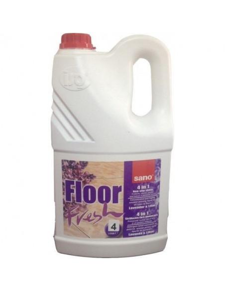 Detergent pardoseli Sano Floor Fresh Liliac 4L