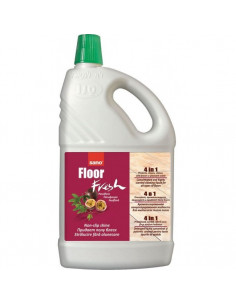 Detergent pardoseli, 2L, SANO Floor Fresh Passion Fruit