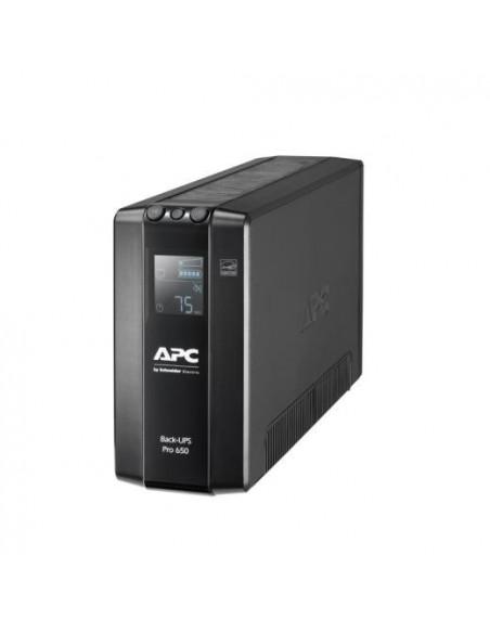 Back UPS Pro BR 650VA 6 Outlets AVR LCD Interface