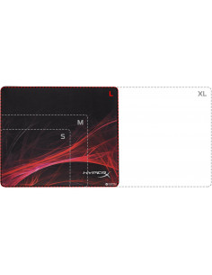 Mousepad Kingston HyperX FURY S Pro Gaming Mouse Pad Speed