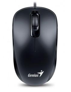 Mouse Genius cu fir optic DX110 1200dpi negru plug and play USB